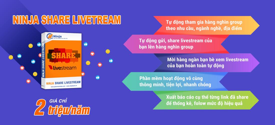 Ninja Share Livestream
