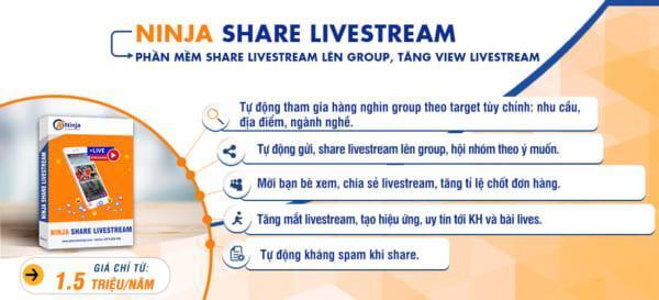 Phần mềm tăng tương tác livestream