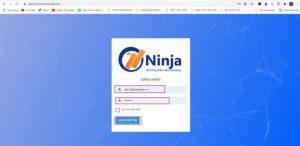 Đăng nhập phần mềm Ninja Zalo